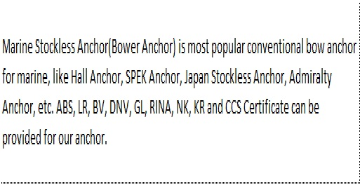 U.S. Navy Stockless Anchor2