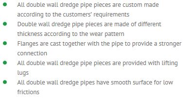 Double wall pipes